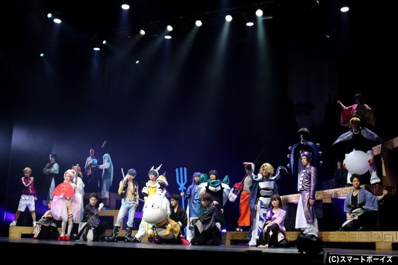 壮大な冒険の始まりを描く、「ミュージカル封神演義-目覚めの刻-」開幕!