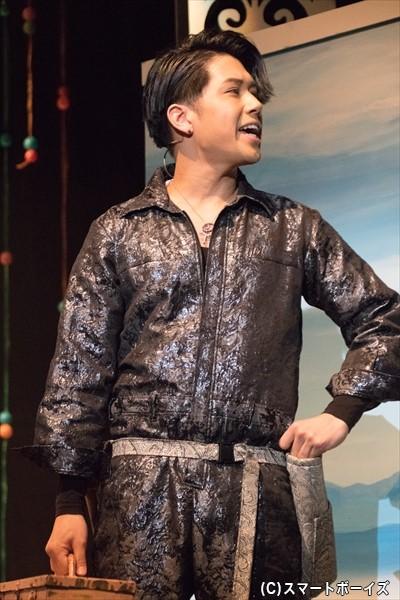 インスペクター 役・SHUNさん
