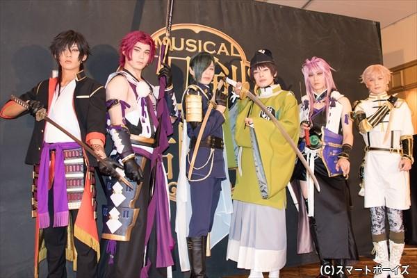 (左より)牧島輝さん、spiさん、荒木宏文さん、崎山つばささん、太田基裕さん、横田龍儀さん