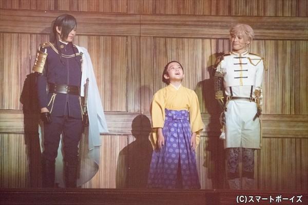 徳川家康と、家康の長男・信康の一生を家臣として見守る刀剣男子たち