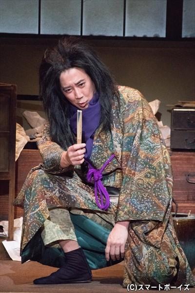 柳亭種彦役/水谷あつしさん