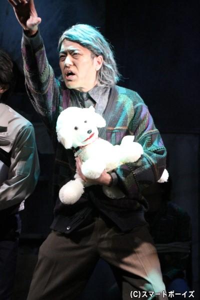 古屋敷金成役の高木俊さん