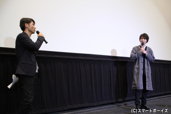MCを務めた大森敬仁プロデューサーとのクロストーク