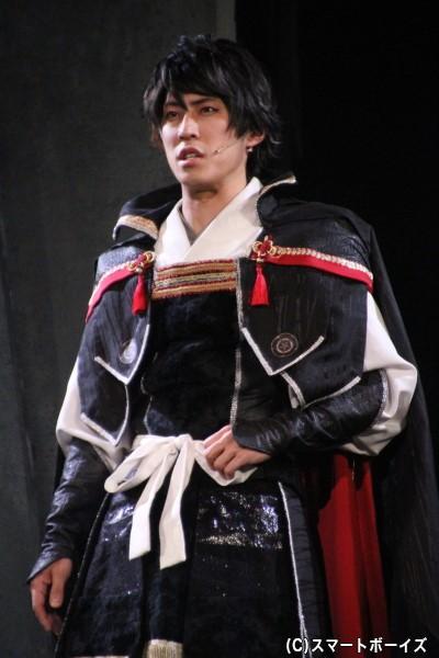 """""""ドS×唯我独尊""""織田信長役の小笠原健さん"""