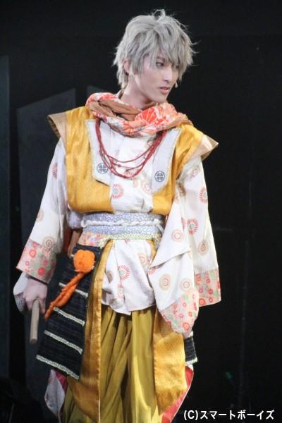 """""""野心家×天邪鬼""""徳川家康役の木原瑠生さん"""