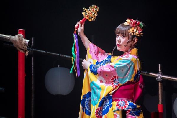 駒姫役の平松可奈子さん