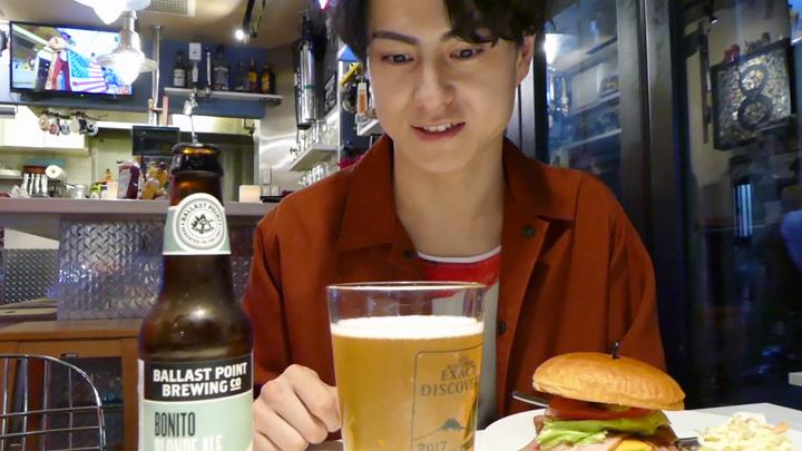 大好物のビール、2軒目も行っちゃいます♪