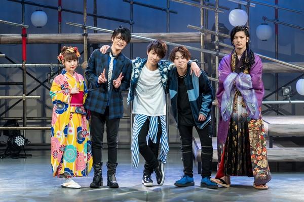 (左より)平松可奈子さん、若菜太喜さん、米原幸佑さん、八島諒さん、中村誠治郎さん