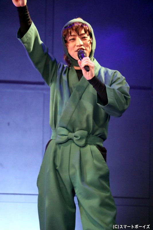 善法寺伊作(ぜんぽうじいさく)役の反橋宗一郎さん
