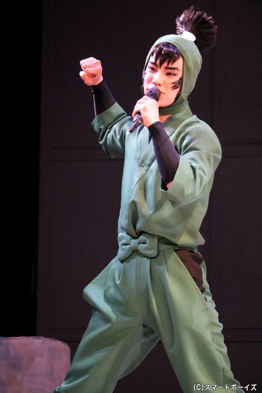 食満留三郎(けまとめさぶろう)役の秋沢健太朗さん