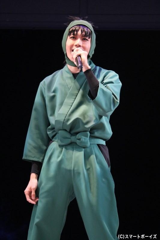 七松小平太(ななまつこへいた)役の木村優良さん
