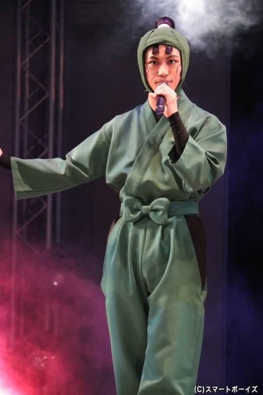 立花仙蔵(たちばなせんぞう)役の湯本健一さん