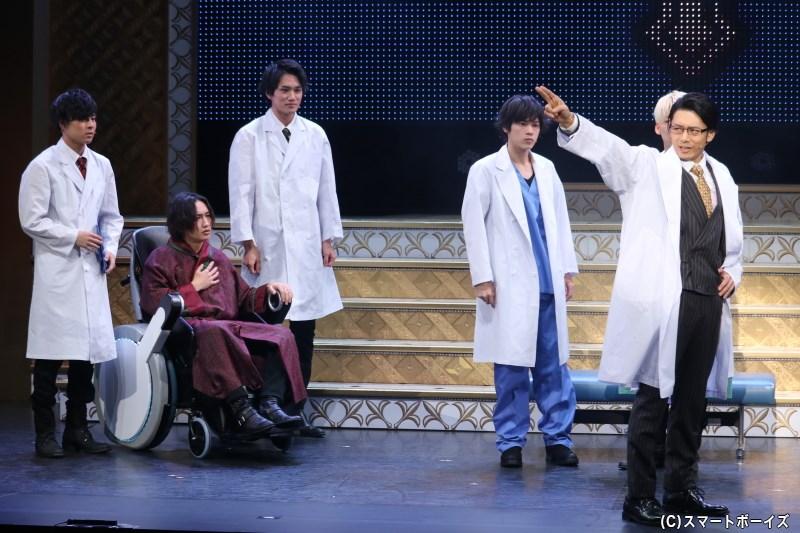 医者の士郎は、部下の医者たちや入院していたナオミの夫・瞬にある提案を持ちかけ……