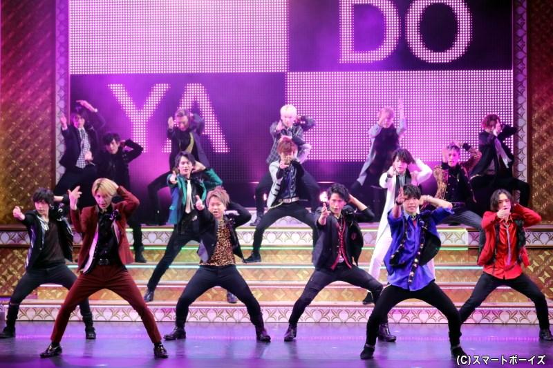ノリのいい劇中歌&ダンスシーンは圧巻! ハイレベルなパフォーマンスに注目