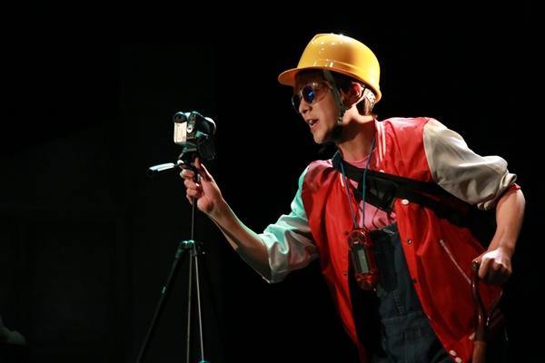 石井由多加さん演じる九条ねぎ丸は、安納ポテ男の相方で、ドッキリの仕掛け人でもある