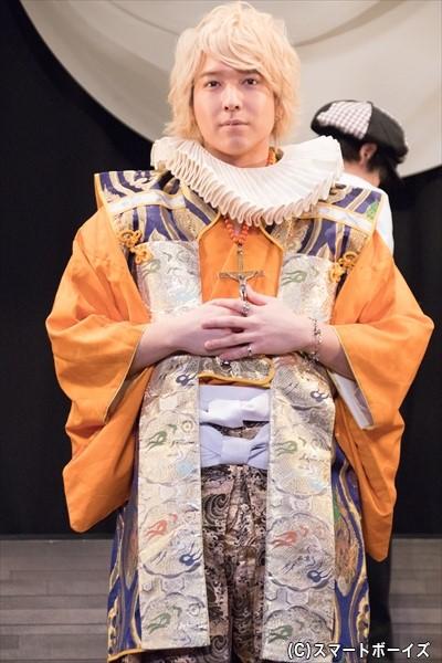 甘草天使郎(あまくさてんしろう)役/坂田隆一郎さん