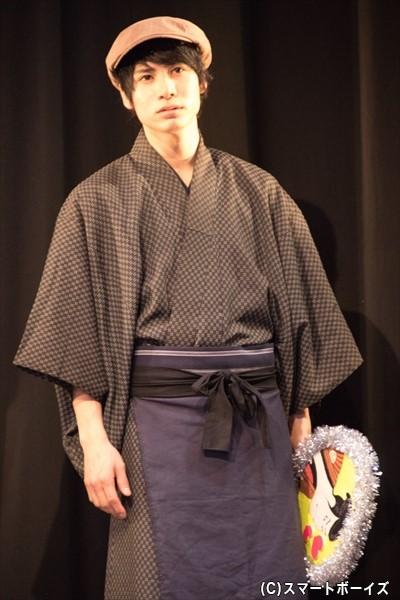加賀尾益兵衛(かがおますべえ)役/二葉勇さん