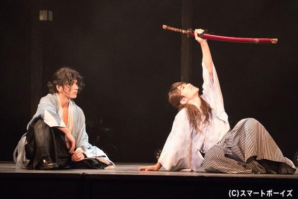 ひょんなことから仲良くなった沖田と龍馬は、夢を語り合います