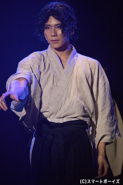 坂本龍馬役/松田岳さん