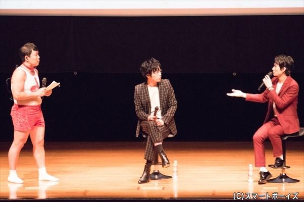 オラキオさん(左)と松田凌さん(右)と共に、これまでの10年を振り返ります