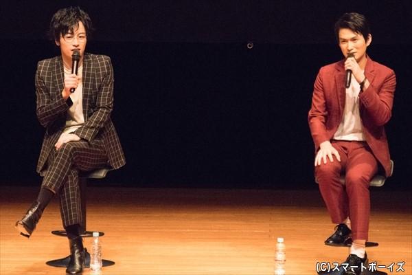 「『薄桜鬼』に出演した頃から、板に立つ覚悟ができました」と語る鈴木さん