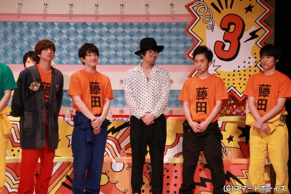 (左より)青木一馬さん、赤澤遼太郎さん、藤田玲さん、大矢剛康さん、中村嘉惟人さん