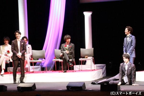 即興一発ギャグ合戦には、矢部さん&富田さん&奥谷さんがチャレンジ!