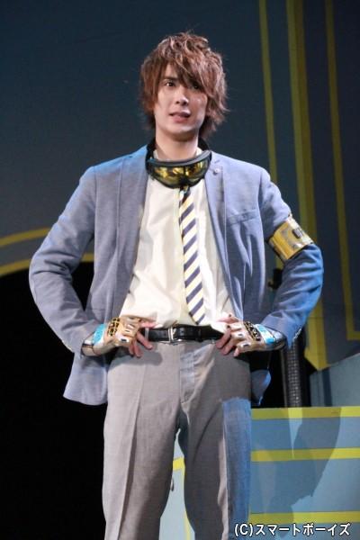 黄月明紀役の仲田博喜さん