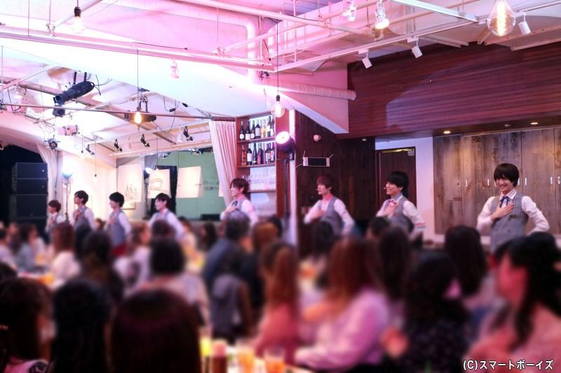 5月のカフェ公演開催も決定! 2月に開催された「Candy Boy CAFÉ Valentine's Day」をプレイバック