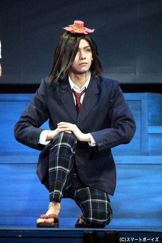 から傘お化け役の北川尚弥さん