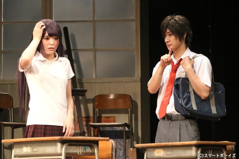 早坂あかり(左・川嶋由莉さん)にひそかに恋をしている蒼太