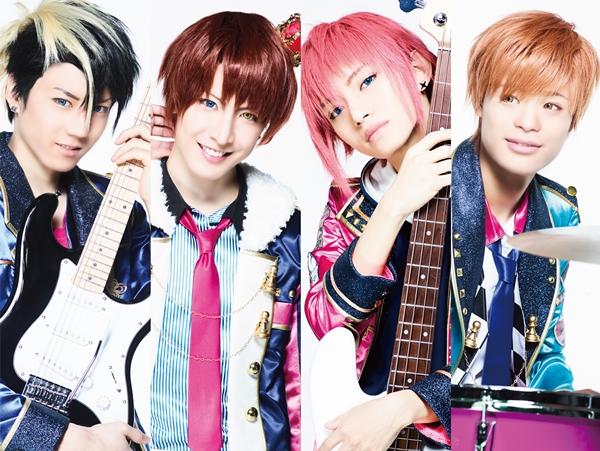 (左より)Rook役の石賀和輝さん、King役の松岡卓弥さん、Bishop役のとまんさん、Knight役の竹内唯人さん