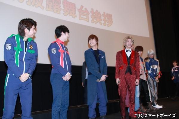 登壇者入場では、結木さんと濱さんがまさかの衣装チェンジ!