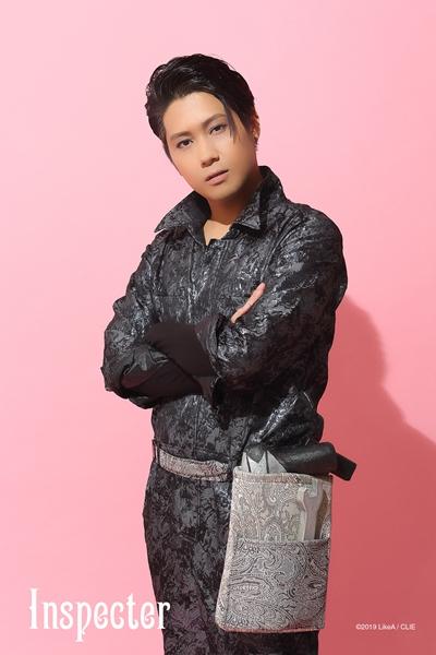 インスペクター役のSHUNさん