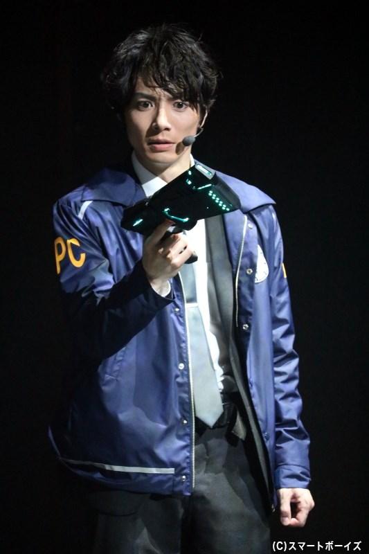 九泉とともに監視官を務める、嘉納火炉役の和田琢磨さん