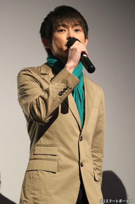 五年生・尾浜勘右衛門役の佐藤智広さん