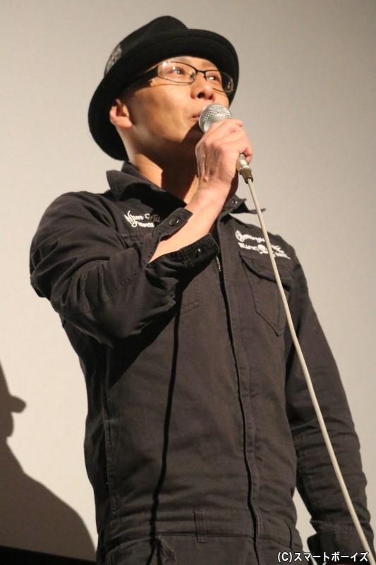 この日のトークMCも務めた、キャプテン達魔鬼役の高橋光さん