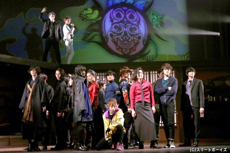 「桃太郎」を題材にしたメディアミックスプロジェクトより、いよいよ舞台版が開幕!