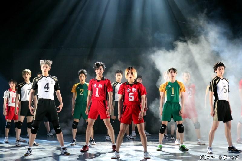 今までにない演劇「ハイキュー!!」に挑む、音駒高校が主役の〝東京の陣〞!