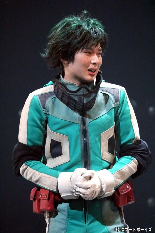 雄英高校に入学した、通称「デク」こと緑谷出久役の田村 心さん
