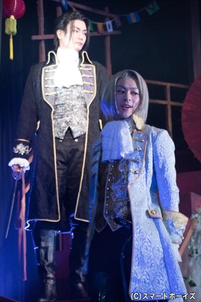 北の座長・東雲と、その弟分の春澄は、詩郎と安里を狙う