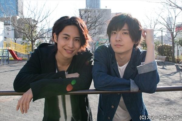 橋本真一(左)&山本一慶さん(右)