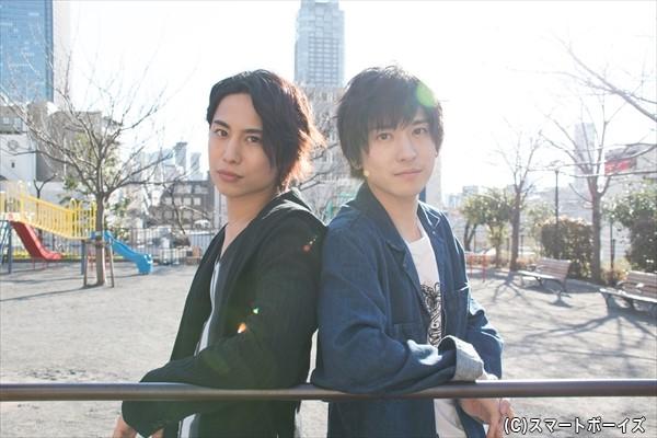 橋本真一さん(左)&山本一慶さん(右)