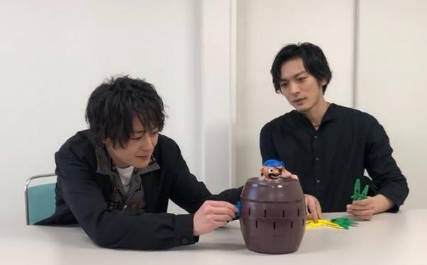 犬飼貴丈さんと久保田悠来さんがゆる~く真剣勝負!