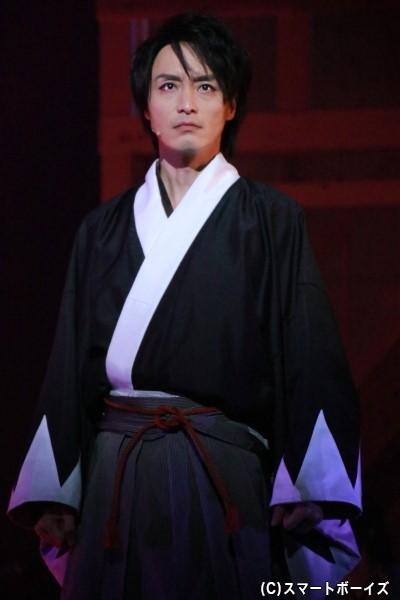 土方歳三役の徳山秀典さん
