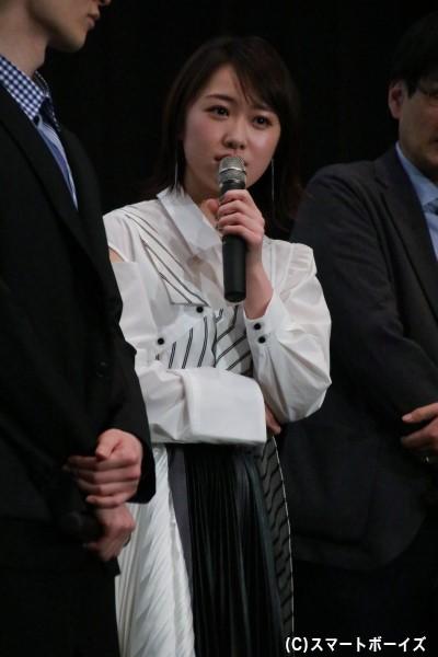 早見初美花/ルパンイエロー役の工藤遥さん