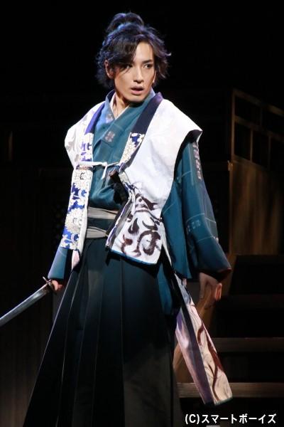 直江兼続役の宮澤佑さん