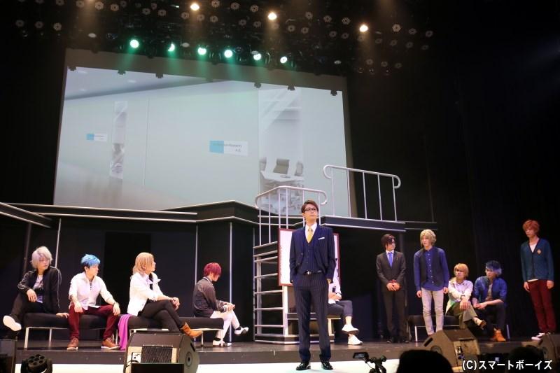 ダイナミックコード株式会社の社長・伊澄は、4バンド合同でのフェス開催を言い渡す