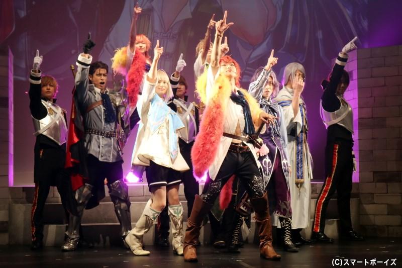 ダンスやアクションシーンも満載、さらにパワーアップした『ダメステ』をお楽しみに!