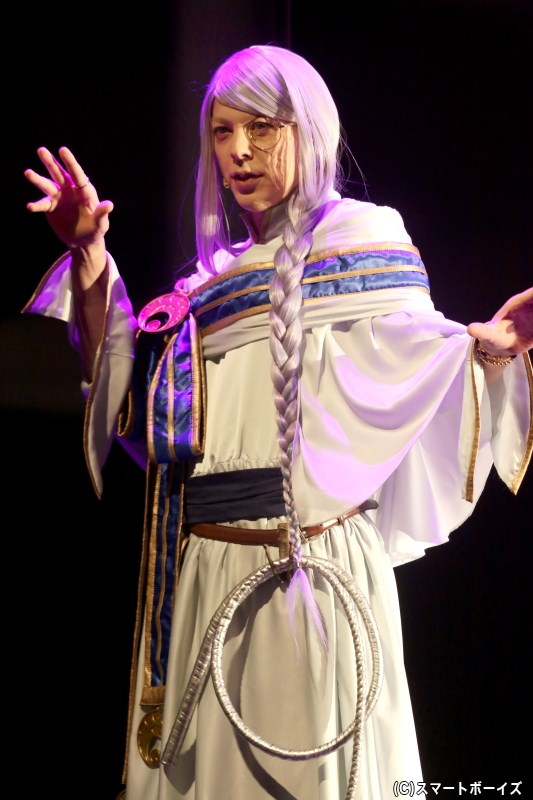 皇子バカが玉にキズ、セレンファーレンの宰相・クロム役の汐崎アイルさん